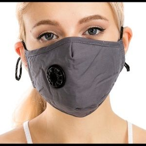 Other - Face Mask w/Air Valve, adjustable ear band...